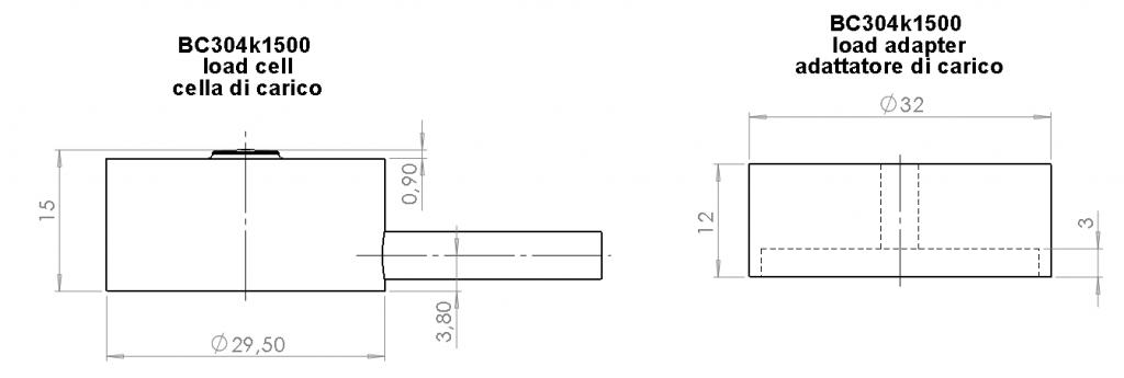 BC304k1500 dimensioni