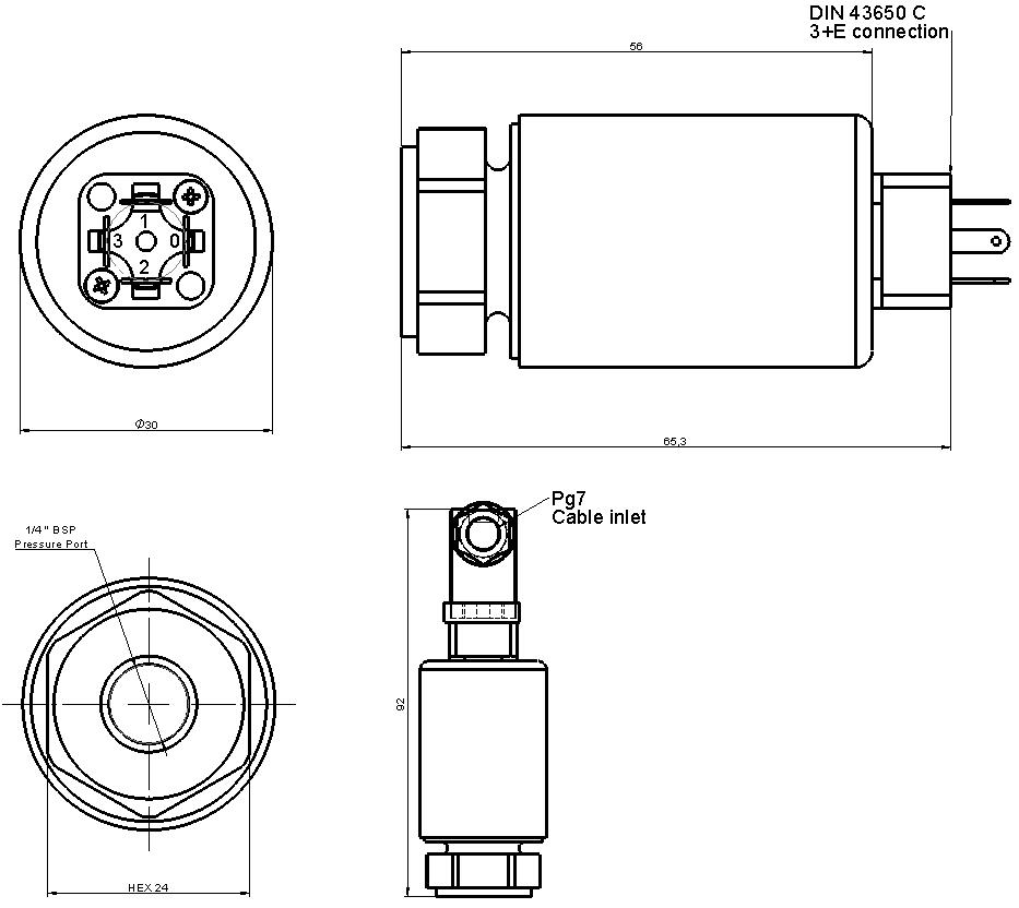 LP650 dimensioni