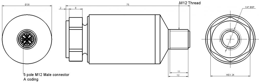 LP650M12 OverallDimensions
