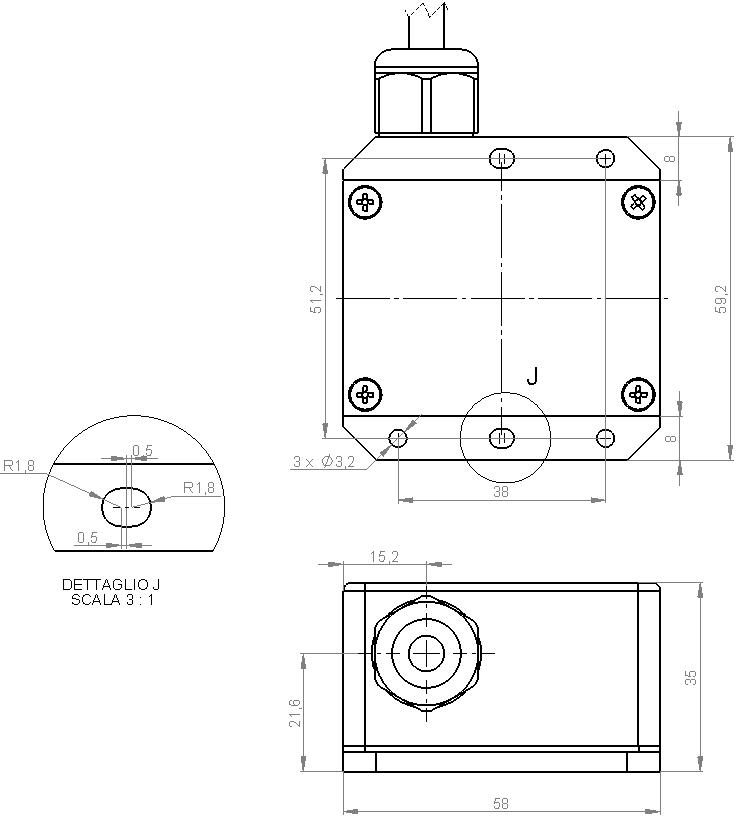 Ingombri ES270 cavo