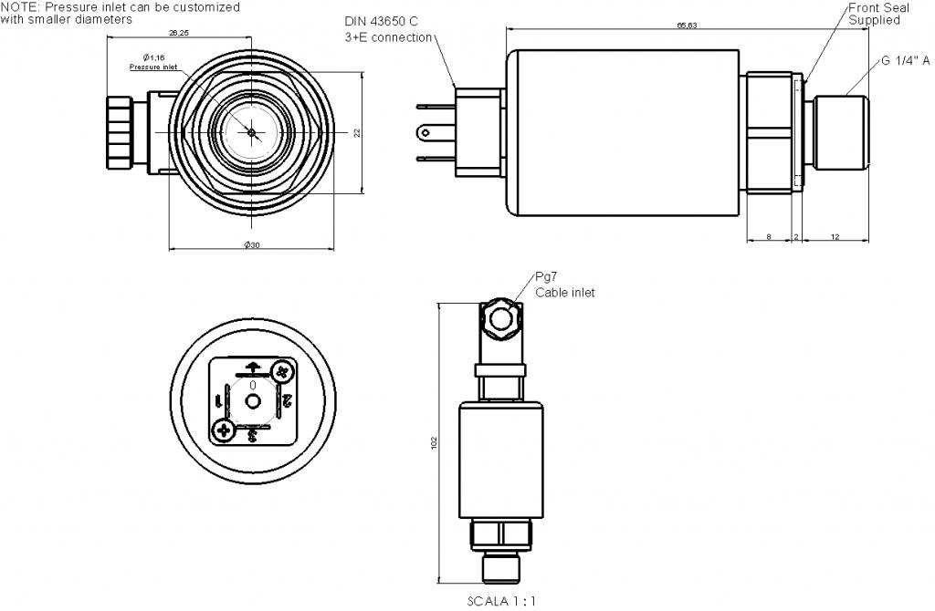 LP66x G14 dimensions