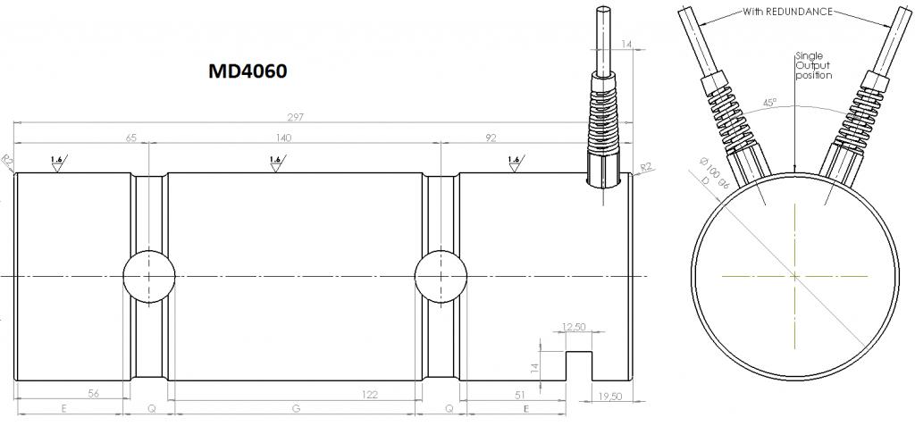 MD4060 OverallDimensions