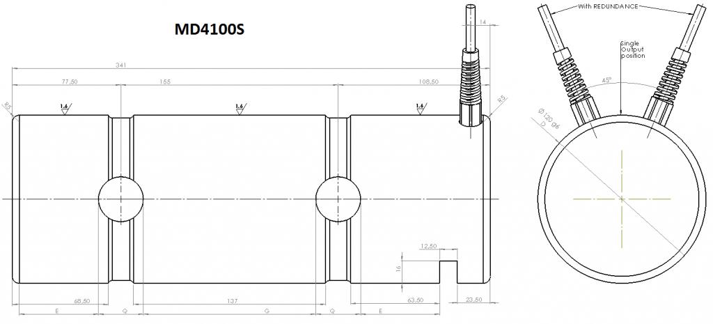 MD4100S OverallDimensions