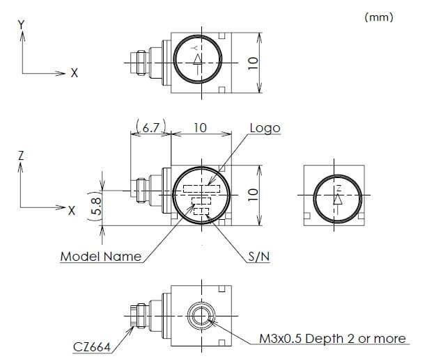 S2tech: accelerometro triassiale